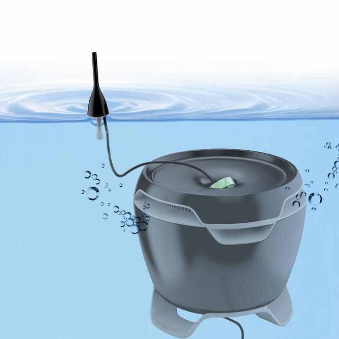 Het Internal Venturi Filter reinigt het vijverwater biologisch, in 2 ...: aquariaveldhuis.nl/index.php?interne-vijverfilters=&categoryid=1260...